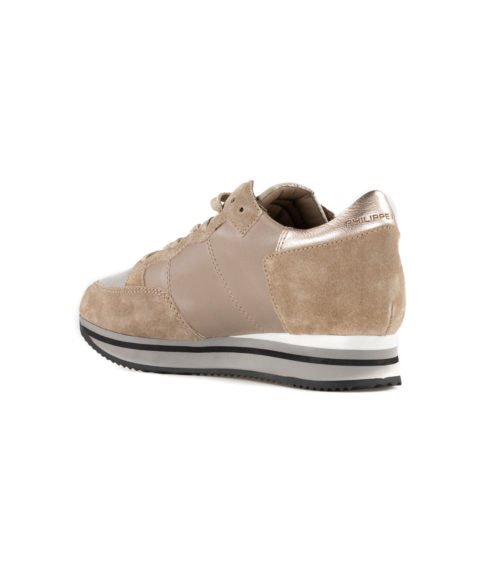 SNEAKERS DONNA PHILIPPE MODEL TORTORA MADE IN ITALY