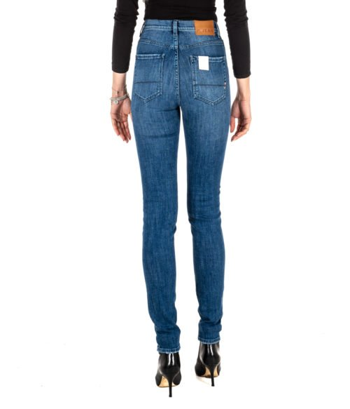 JEANS DONNA P_JEAN BLU DENIM TAYLOR SKINNY HIGH RISE MADE IN ITALY DENIM