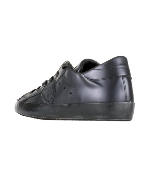 SNEAKERS DONNA PHILIPPE MODEL BLU NOTTE METAL NOIR BLACK