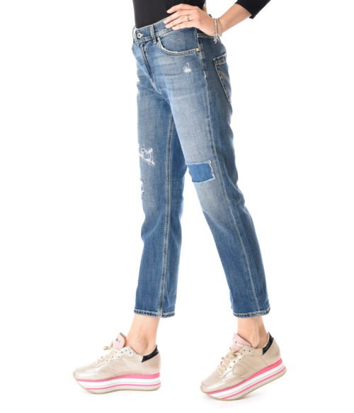 JEANS DONNA DONDUP DENIM SCURO PANTALONE PAIGE DENIM MADE IN ITALY