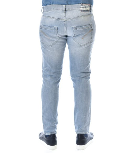DONDUP JEANS UOMO DENIM MIUS SLIM FIT PANTALONE MIUS UP168