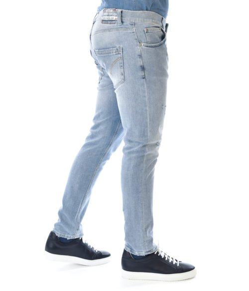 DONDUP JEANS UOMO DENIM MIUS SLIM FIT PANTALONE MIUS UP168 80
